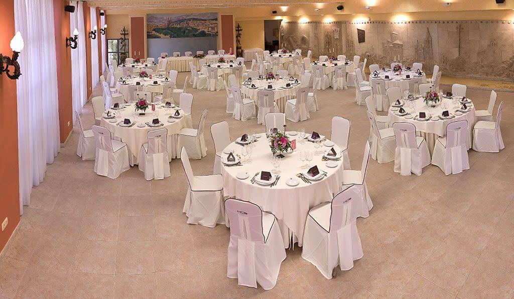 Banquete de boda en Burgos
